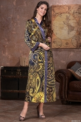 Халат женский MIA-AMORE ARMANI GOLD  АРМАНИ ГОЛД 3499