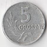 K7501, 1961, Польша, 5 грошей