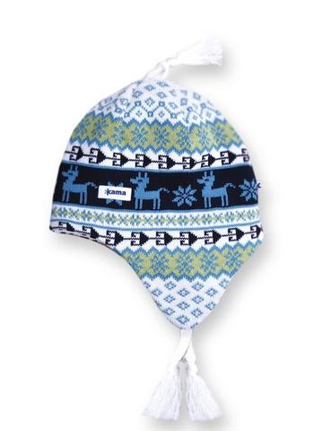 шапка-ушанка Kama A17 White