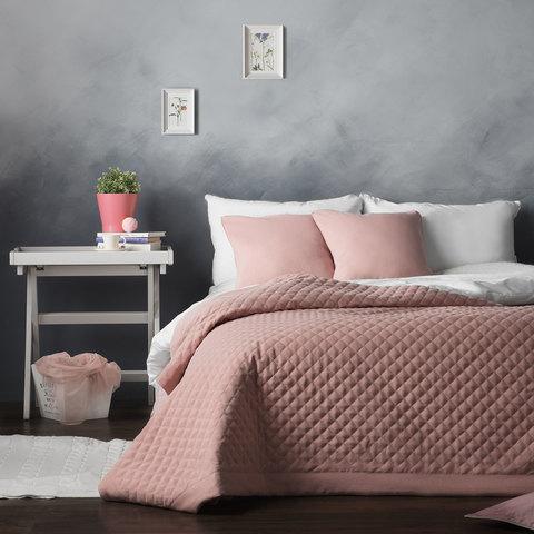 Покрывало Грета розовый