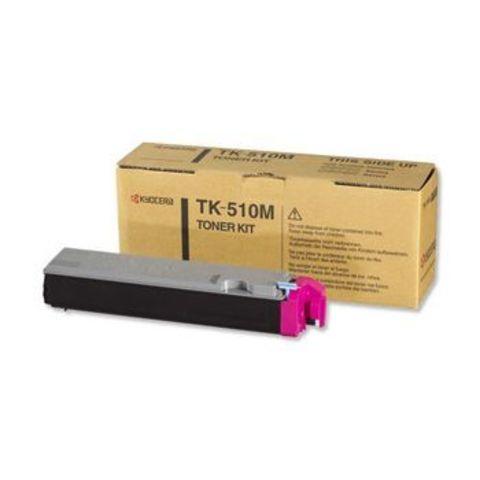 Kyocera TK-520M - Тонер-картридж для принтеров Kyocera FS-C5015N. Ресурс 4000 страниц.