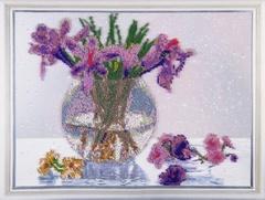 Дыхание весны - набор для вышивания бисером, VS014