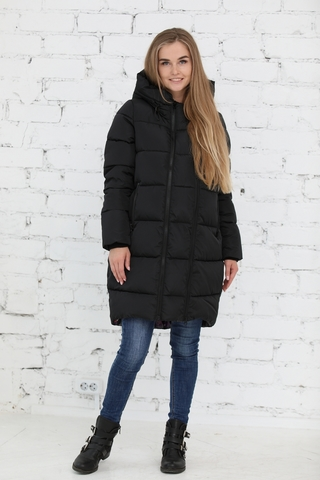 Куртка 2в1 для беременных 10839 черный