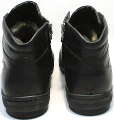 Модные зимние ботинки мужские Ikoc 1608-1 Sport Black.