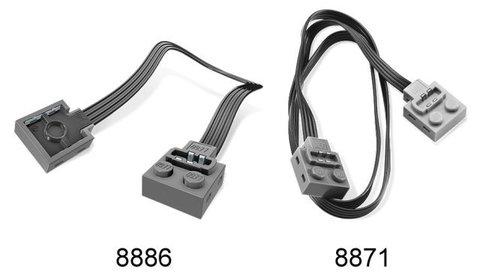 LEGO Education Mindstorms: Дополнительный силовой кабель (50 см) 8871
