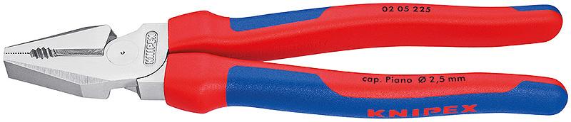 Плоскогубцы комбинированные особой мощности Knipex KN-0205225