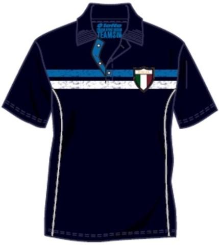 Поло теннисное Lotto LEISURE CUP-ITALIA 68 N7182