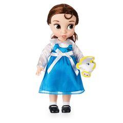 Кукла Белль (Belle) перевыпуск 2017 г. - Красавица и чудовище Disney Animators Collection