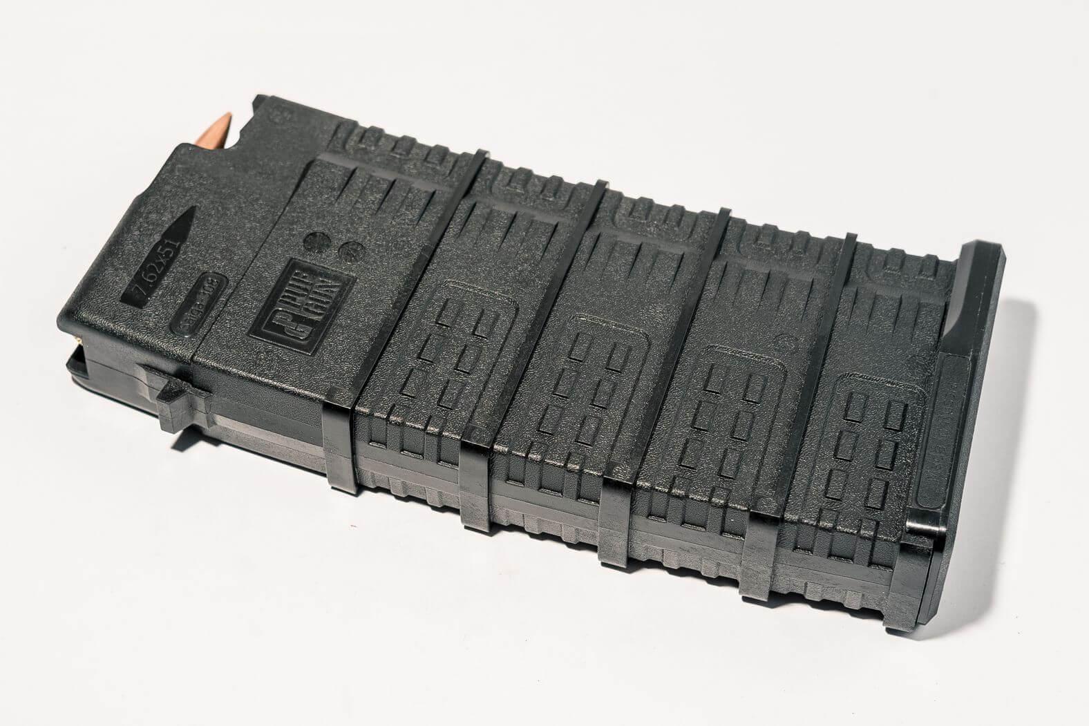 Магазин Pufgun Сайга-308 на 25 патронов, черный