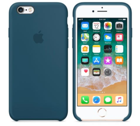 iPhone 6/6s Silicone Case  Cosmos Blue