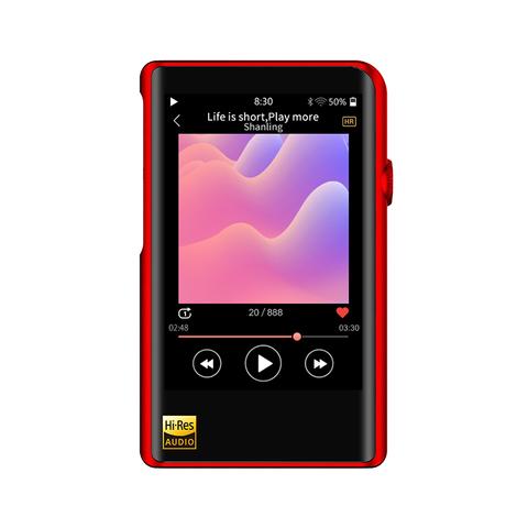 Shanling M2X red, портативный аудиоплеер