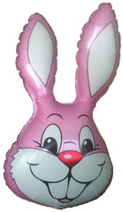 Заяц (розовый) F 35