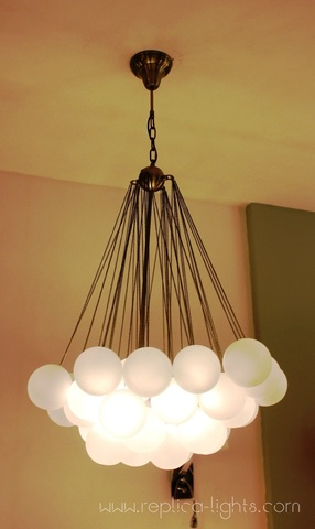 Cloud Chandelier by Art-metal ( copper )