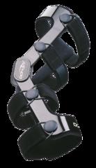 Жесткий 4-точечный спортивно-функциональный низкопрофильный ортез DonJoy 4-Titude