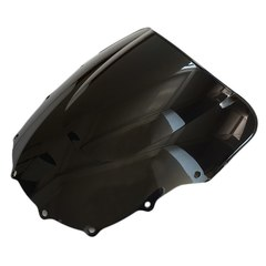 Ветровое стекло для мотоцикла Kawasaki ZZR 400/600 93-07 DoubleBubble Черное