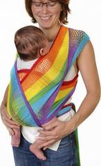 Слинг-шарф, Filt, Fil'Up, радуга, (с сумкой), S,M,L,XL