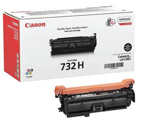 Картридж Canon Cartridge 732HBk/6264B002