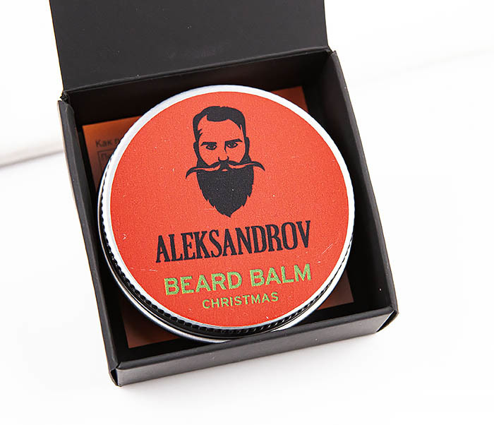RAZ424-4 Бальзам для бороды «Christmas» от ALEKSANDROV (30 мл)
