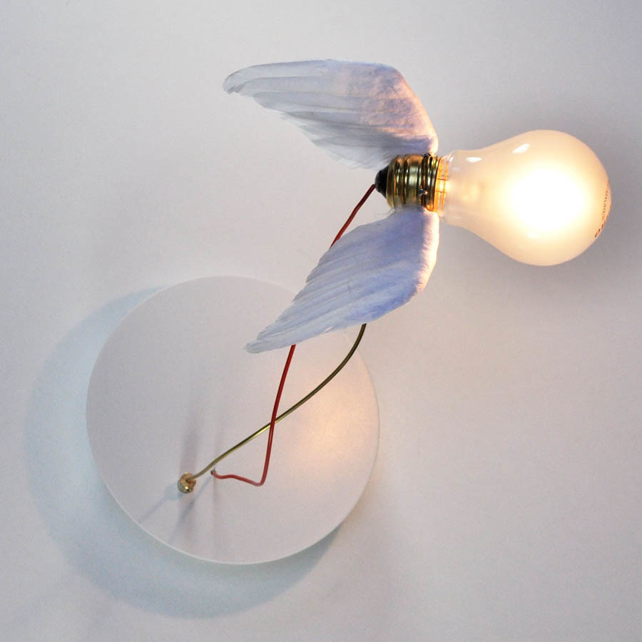 replica ingo maurer birdie 39 s nest wall lamp. Black Bedroom Furniture Sets. Home Design Ideas