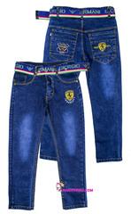 502 джинсы феррари
