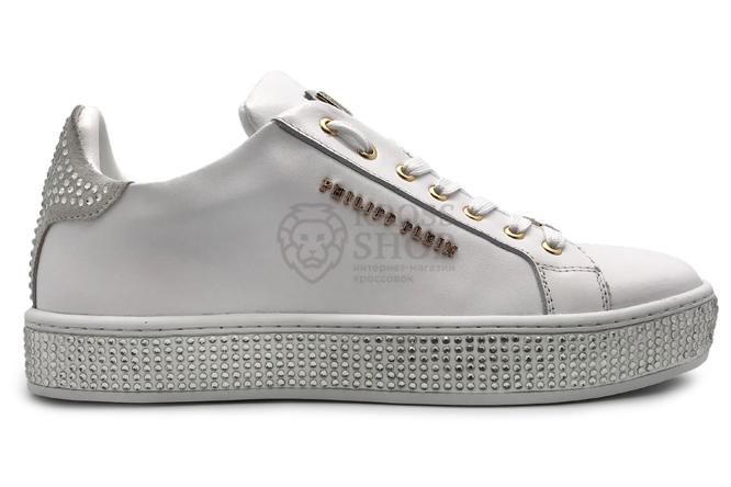 Philipp Plein Women's Jump On It White