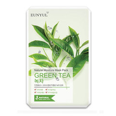 Eunyul Natural Moisture Mask Pack Green Tea - Маска тканевая с экстрактом зеленого чая
