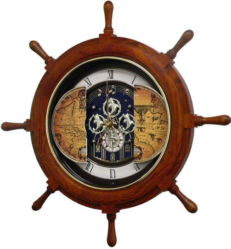 Часы-штурвал