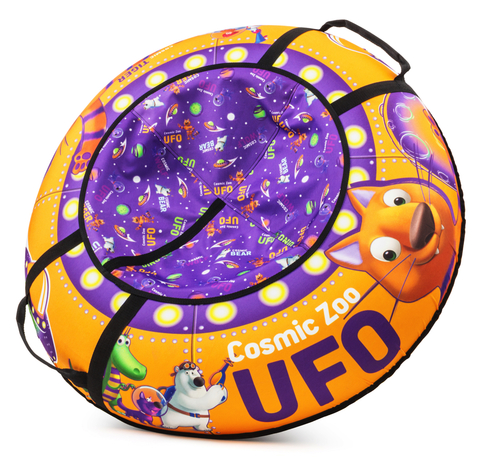 Тюбинг Cosmic Zoo UFO Тигренок ( оранжевый)