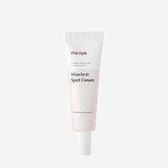 Интенсивно осветляющий точечный крем для лечения пигментации и пост-акне, 20 мл / Manyo Factory Niacin Alpha Spot Cream
