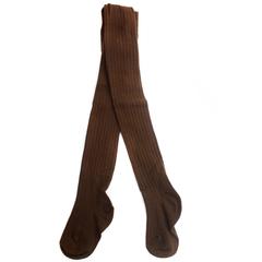 Колготки Рельефные Коричневые Рост 125 см - 135 см