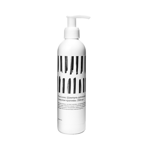 Шампунь для волос с протеинами и маслом крапивы, 250 мл