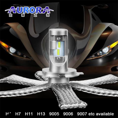Светодиодные лампы H4 головного света Аврора  серия G10  ALO-G10-H4Z ALO-G10-H4Z  фото-1