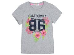 702-8 футболка детская, серая