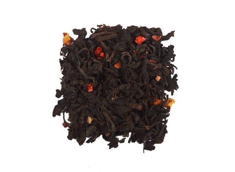 Чай Пуэр клубника со сливками. Интернет магазин чая