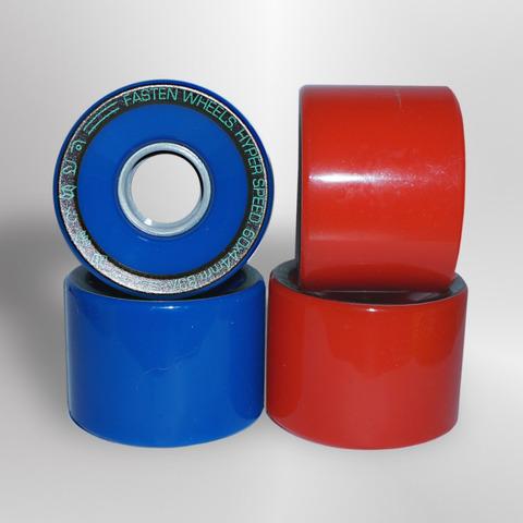 Колёса FASTEN Hyperspeed 83A (Blue/Red)