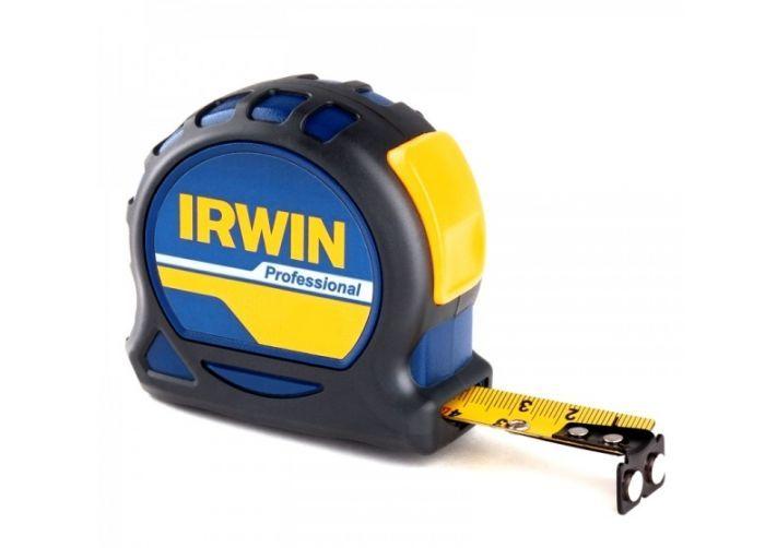 Рулетка 5мх19мм PROFESSIONAL, магнит, нейлон, двухсторонняя разметка Irwin 10508059