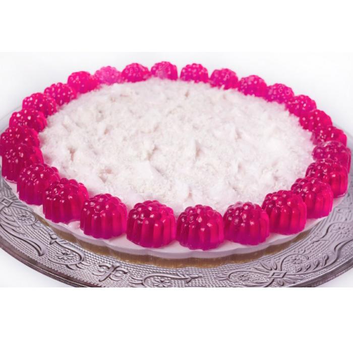 Autour Du Bain Мыло-торт «Малиновый Йогурт» (Мыло в форме кексов и сладостей)