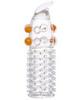 Насадка на член для увеличения с шариками, шипами и усиком (4,5 х 11 см)