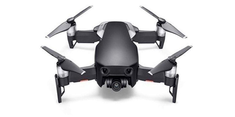 Квадрокоптер DJI MAVIC AIR (EU) Onyx Black вид спереди