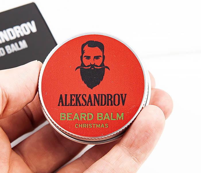 RAZ424-4 Бальзам для бороды «Christmas» от ALEKSANDROV (30 мл) фото 05