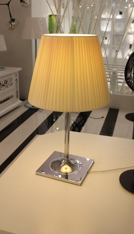 replica  Flos Ktribe T2 Table Lamp Large Plisse Fabric