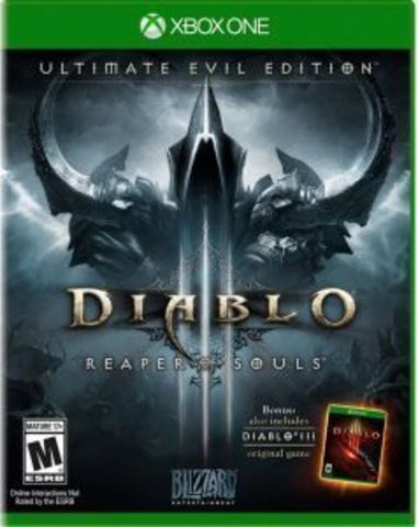 Microsoft Xbox One Diablo III: Reaper of Souls. Ultimate Evil Edition (русская версия)