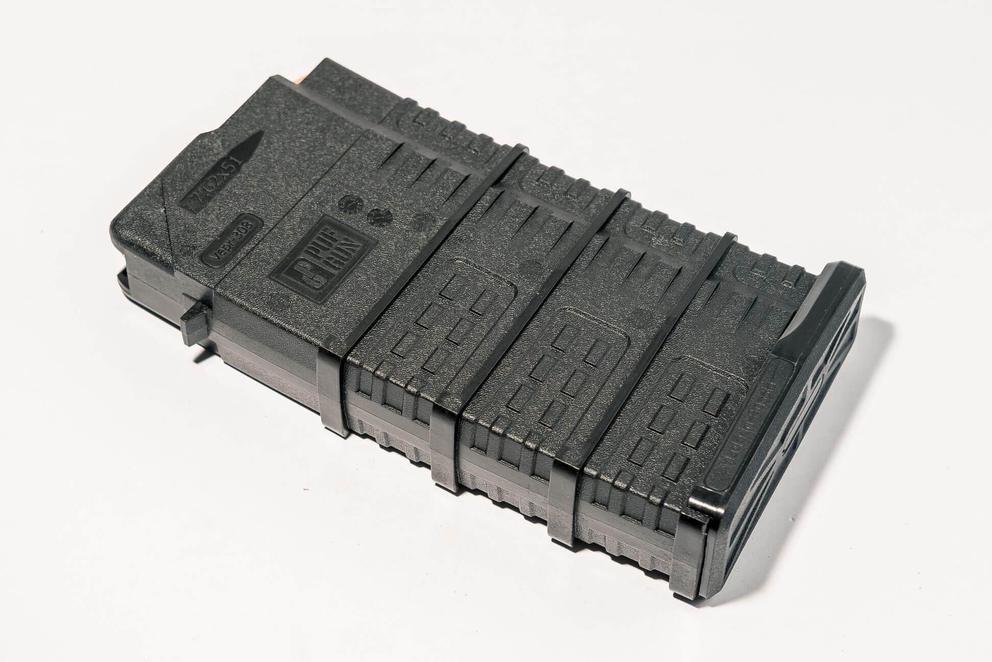 Магазин Pufgun Вепрь-308 на 20 патронов, черный
