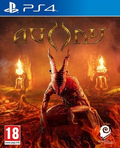 Sony PS4 Agony (русские субтитры)
