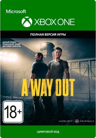 Xbox Store Россия: Xbox One A Way Out (цифровой ключ, русские субтитры)