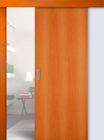 Дверь раздвижная Сибирь Профиль ДПГ, цвет миланский орех, глухая