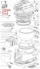 Крышка клапана для мультиварки Moulinex (Мулинекс) - SS-994525