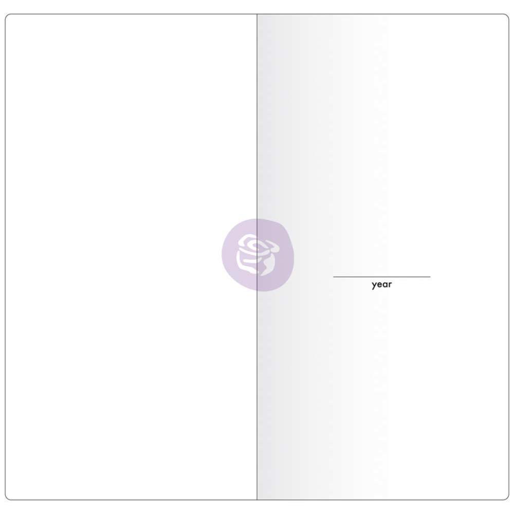 Внутренний блок для блокнотов -Prima Traveler's Journal Notebook Refill - Weekly W/White Paper
