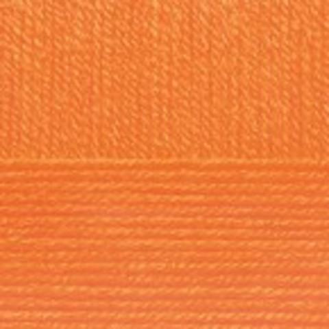 Купить Пряжа Пехорка Детская новинка Код цвета 284-Оранжевый | Интернет-магазин пряжи «Пряха»