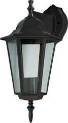 Светильник садово-парковый, 60W 230V E27 черный, 6102 (Feron)